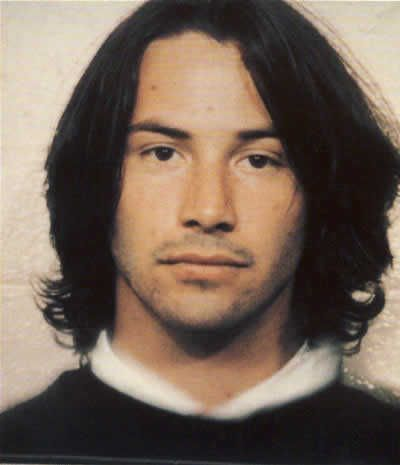 Actor Keanu Reeves After Being Arrested For Drunk Driving And Struggling With Police In 1993 Supposedly This Is The Time That Keanu Reeves Made The