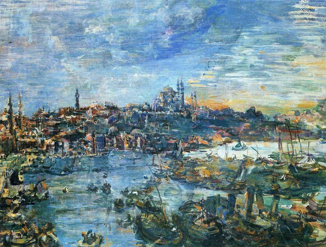 View Of Constantinople 1929 Oskar Kokoschka Austrian