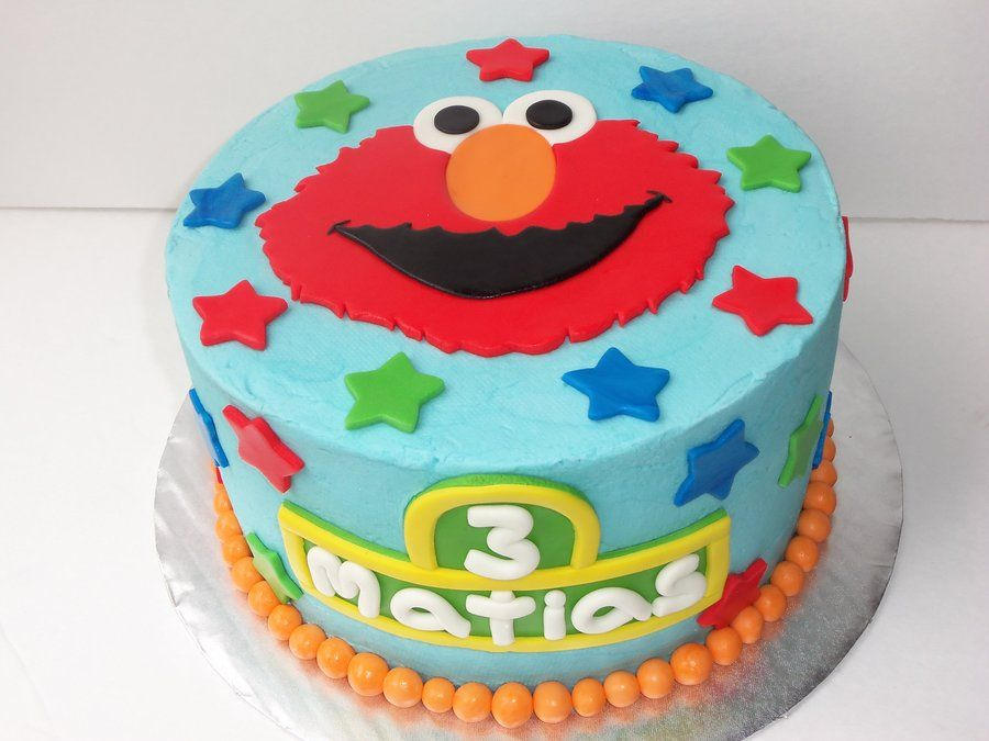 elmo birthday cake 1st Birthday Party Pinterest Elmo birthday