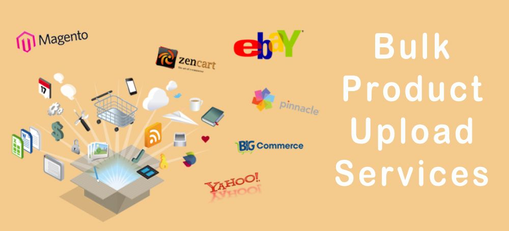 Get #Bulk_Product_Upload_Services and #Product_Listing_Services for