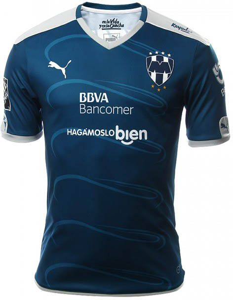 Rayados Monterrey 16-17 Home and Away Kits Released - Footy Headlines 9bcdb0a5186f1