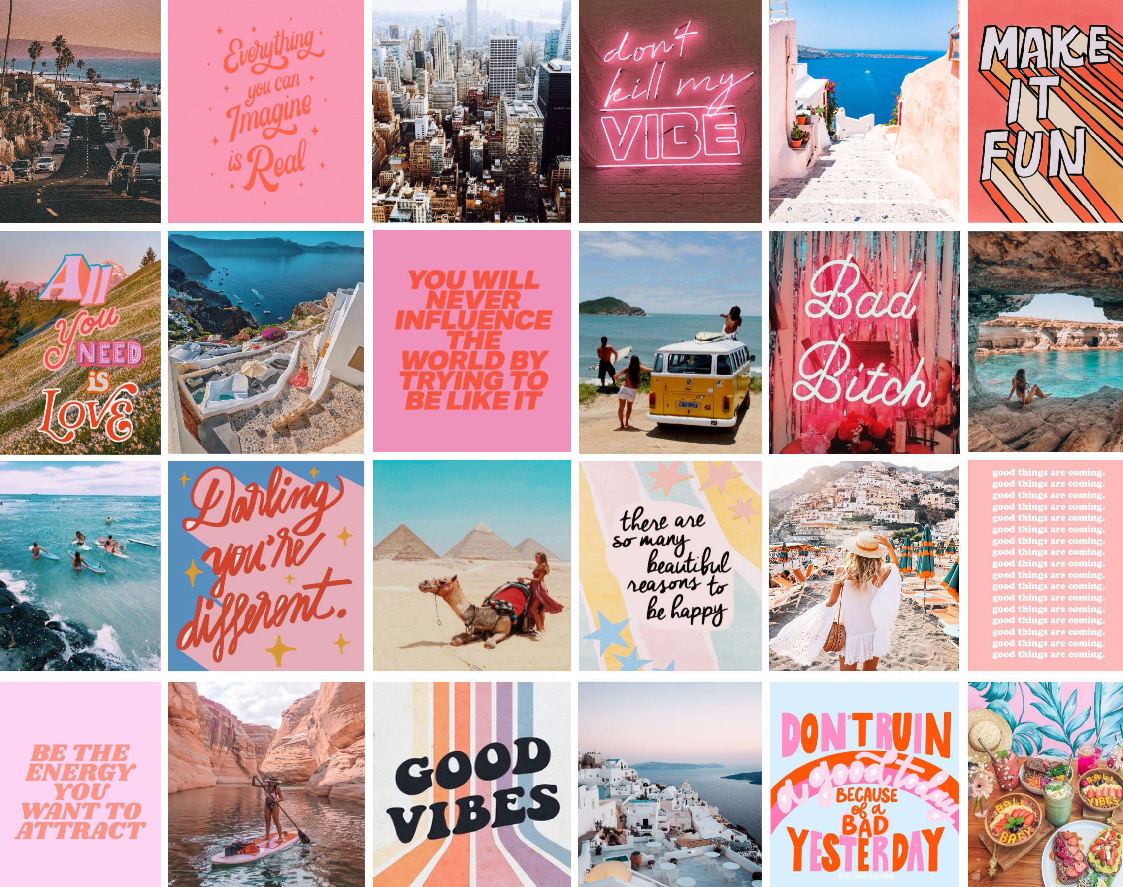 Collage Wallpapers Aesthetic Laptop
