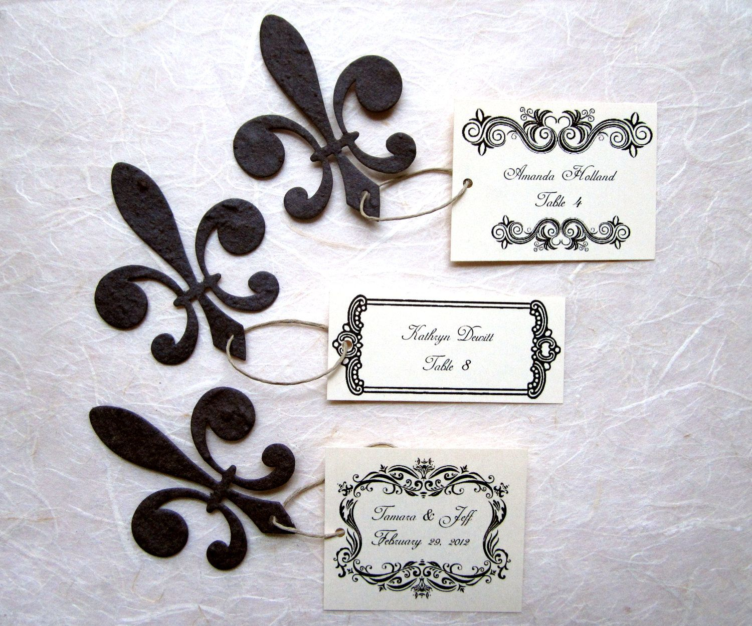 Rachel Heiligman. WOW!! they are table place cards and seeds for ...