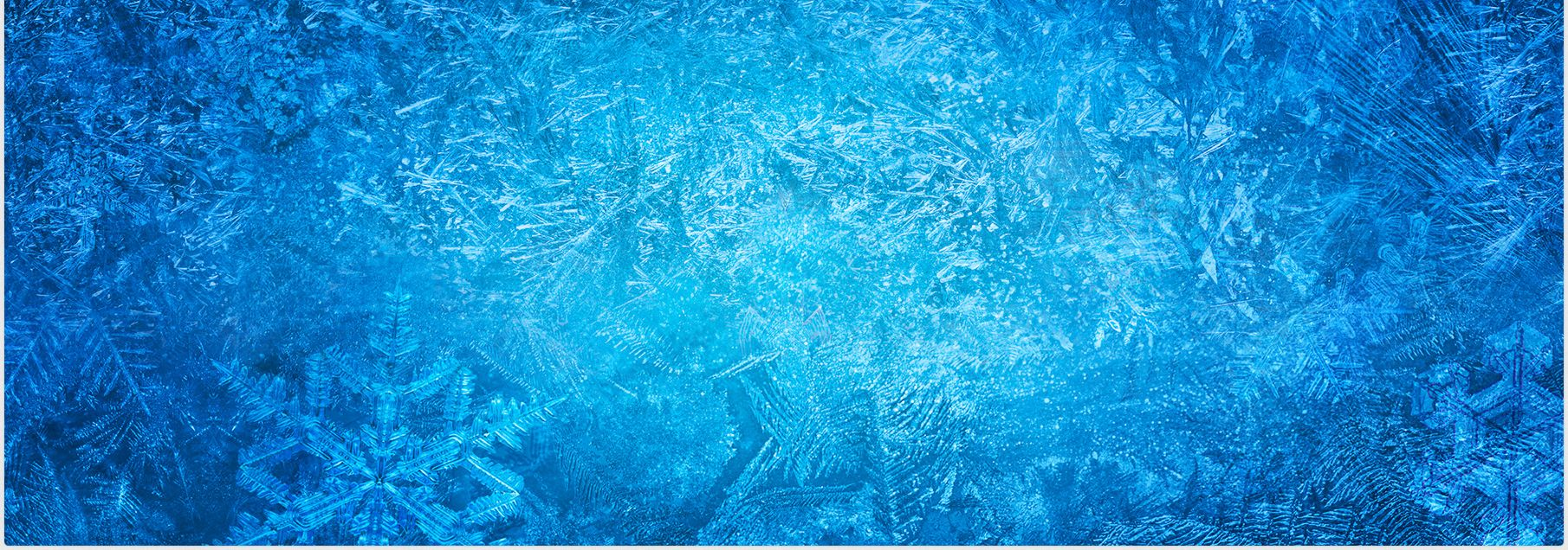 frozen background | Convite