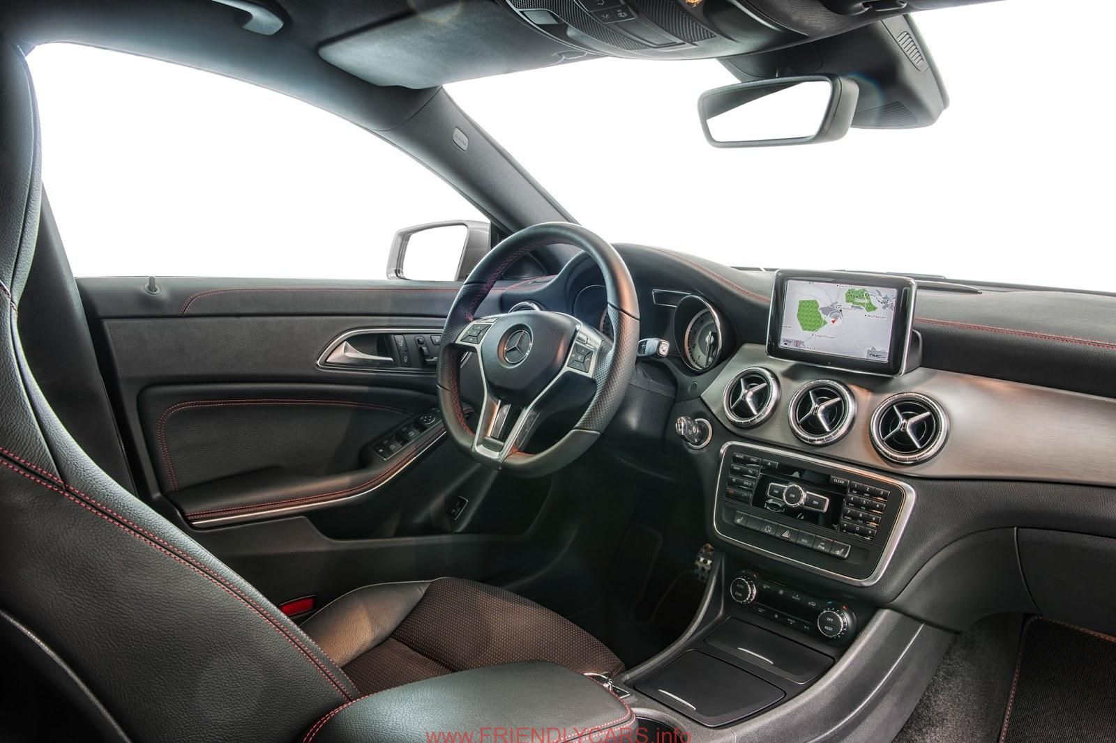 Nice 2014 mercedes cla interior car images hd mercedes benz cla interior the car addictcom gallery