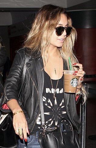 Hollywood actress Vanessa Hudgens spotted in our Tassel Biker Jacket. Steal her style >> www.sdry.co/1jHsfeZ Photo: www.sdry.co/1mNME8n