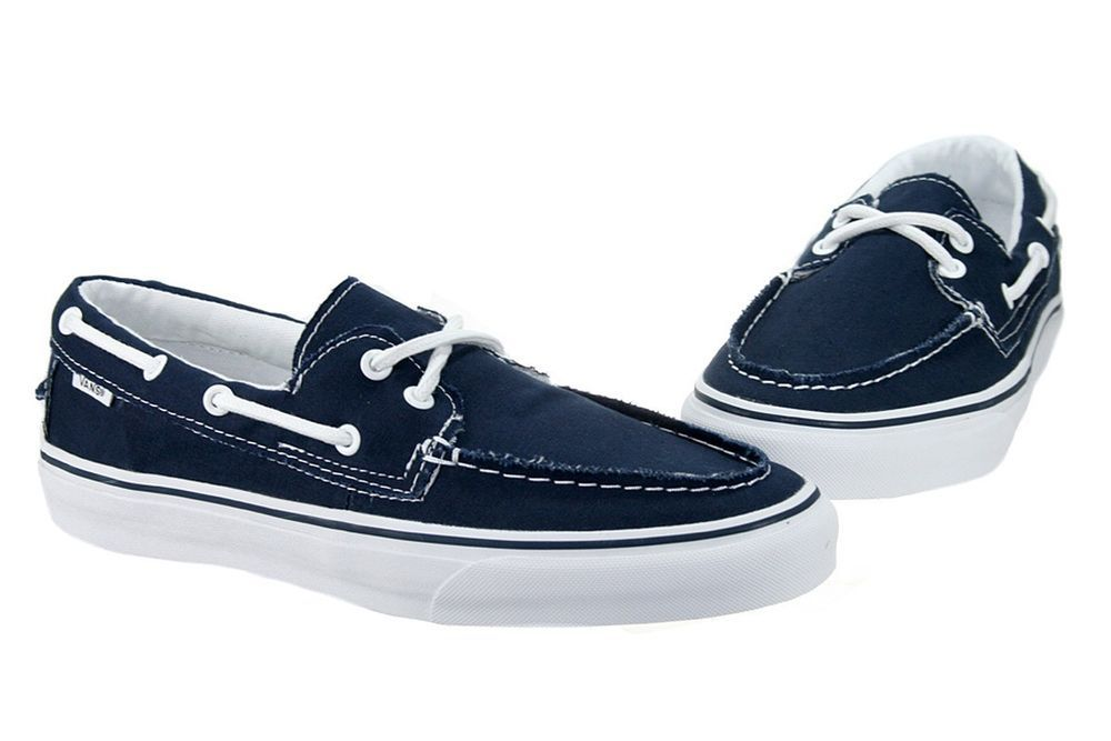 24c8f8046d VANS ZAPATO DEL BARCO BOAT VN-0XC3NWD NAVY BLUE TRUE WHITE BOAT SHOES MEN