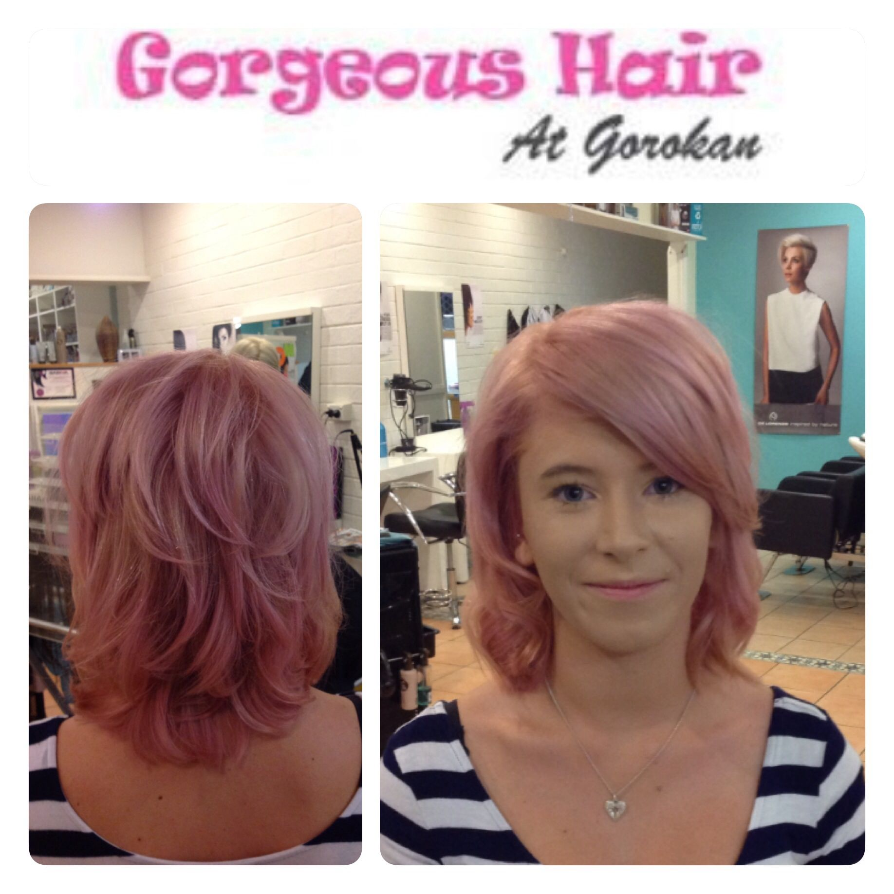#pinkhair #violethair #pasteltones  hair by Danielle at gorgeous hair @ Gorokan Www.gorgeoushairgorokan.com.au