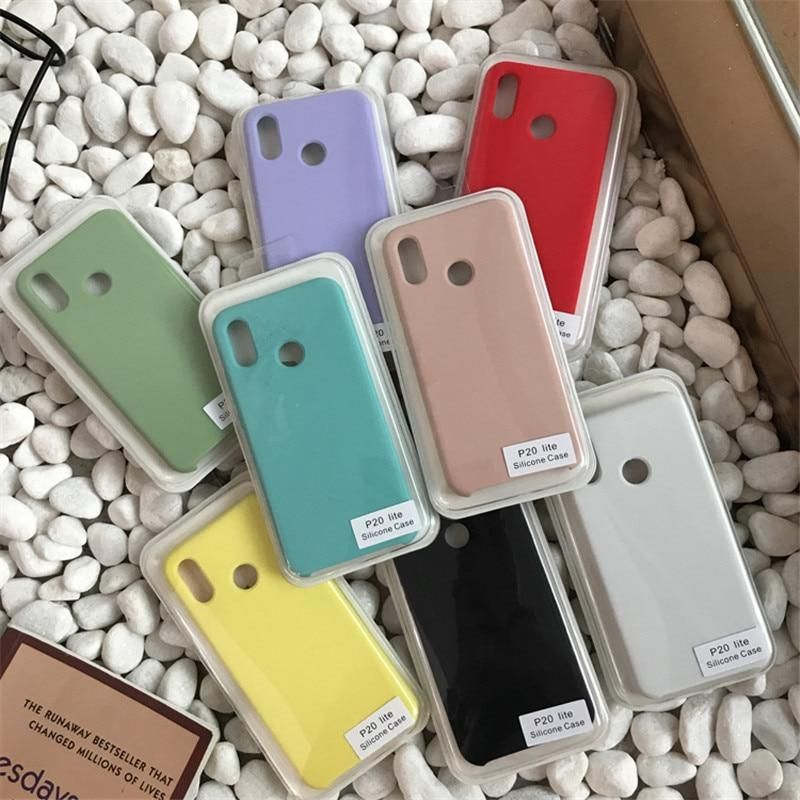 DCHZIUAN Original Soft Silicone Case For Huawei P20 Lite P20 Pro ...