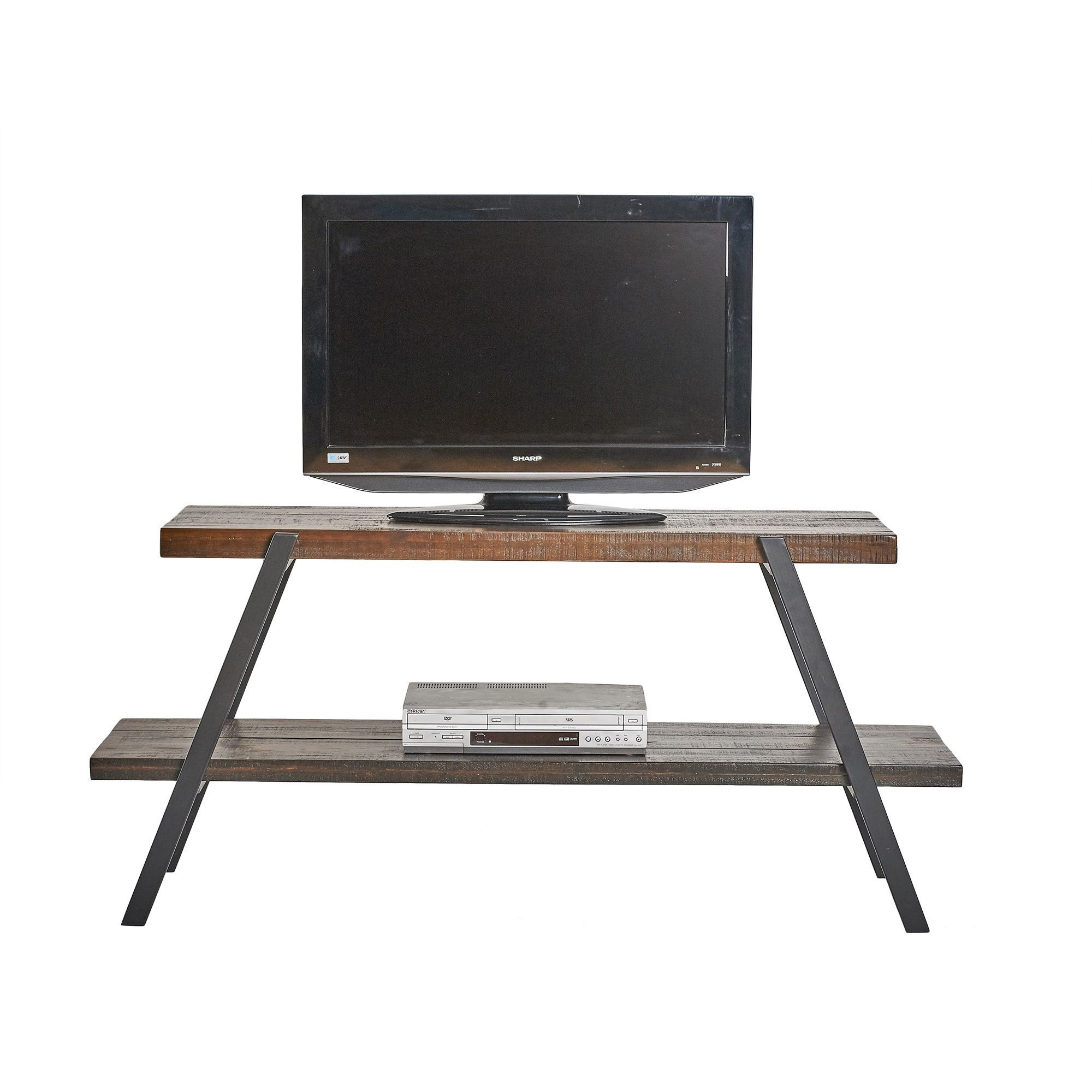 Somette Crawford & Burke Connery Media Console (Merlot), Brown