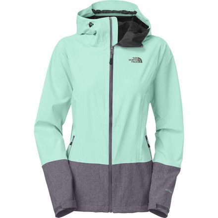 2dff018516d5 The North Face Bashie Stretch Jacket - Women s Mint Blue Greystone Blue  Heather