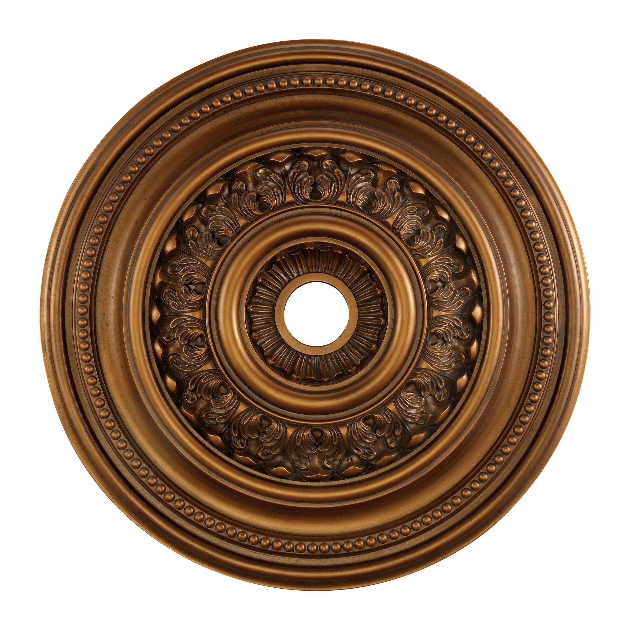 English Study 32 Inch Medallion In Antique Bronze M1022AB