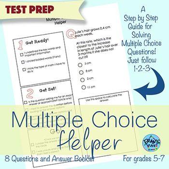multiple choice math word problem test prep helper grades 5 7 math grades 4 math word. Black Bedroom Furniture Sets. Home Design Ideas