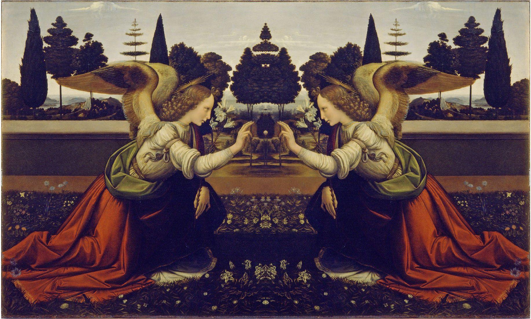 leonardo da vinci paintings | Da Vinci Mirror | Theory ... Da Vinci Paintings Mirrored