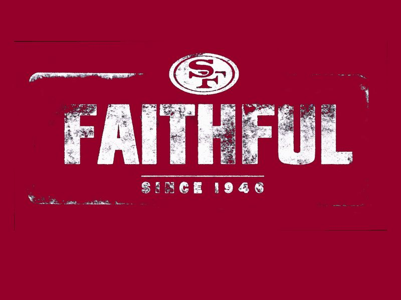 San francisco 49ers faithful wallpaper 49ers all day pinterest san francisco 49ers faithful wallpaper voltagebd Image collections