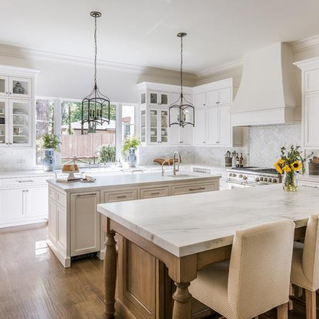 Types Of Kitchen Cabinets 101 Guide All You Need To Know Transitional Kitchen Wood Kitchen Island Wood Top Island Kitchen