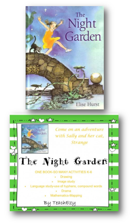 In the Night Garden-author Elise Hurst. This book can be used for any class for different purposes. Hope this gives you some good ideas for your literacy time.
