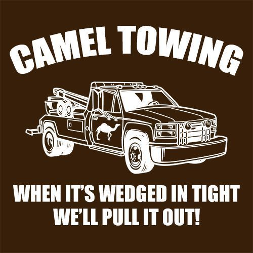 43bb27715 Camel Towing Mens T-Shirt Tee Funny Tshirt Tow Service Toe College Humor  Cool | eBay