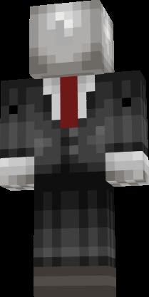 minecraft skin slender man is it sad to say i am a little bit