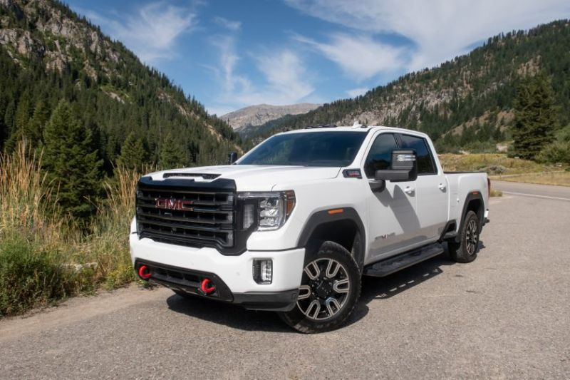 2020 Gmc Sierra 2500 At4 The Power Wagon For Towing Pickuptrucks Com