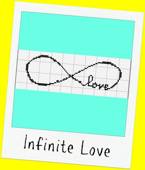 Infinite Love Cross Stitch Pattern