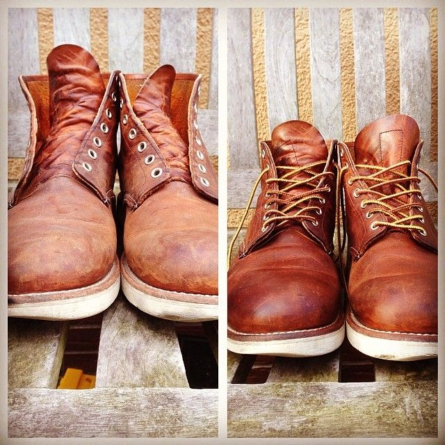cleaned my red wings