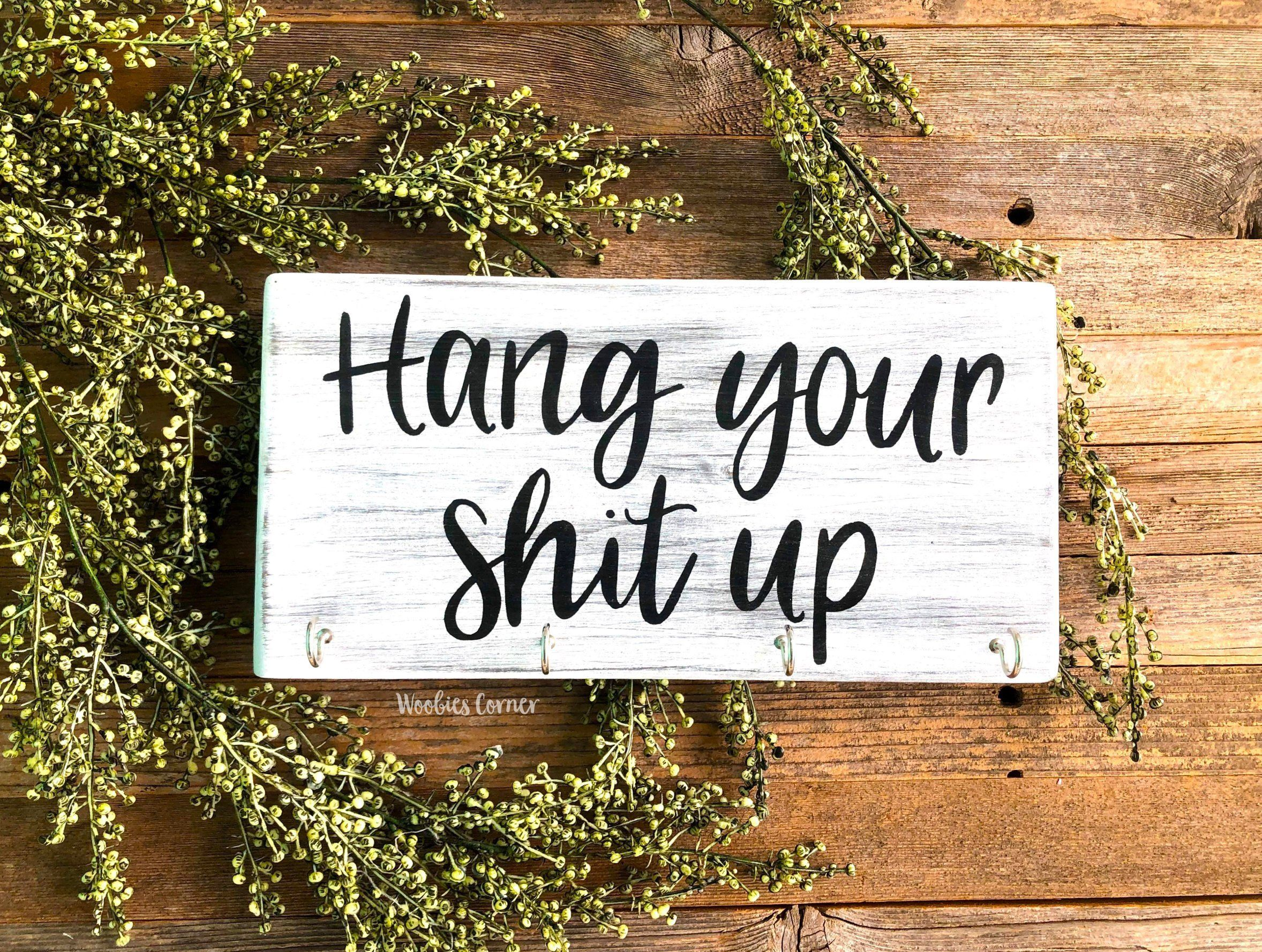 Funny Wood Signs Funny Kitchen Sign Farmhouse Wood Sign Etsy Funny Wood Signs Funny Kitchen Signs Funny Housewarming Gift