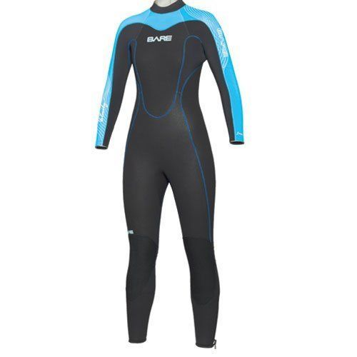 a1e51ff8b6a Women 47356  Bare 3Mm Velocity Full Women S Wetsuit - Blue