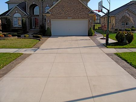 17 best images about driveways on pinterest creative search and construction concrete driveway design ideas - Concrete Driveway Design Ideas