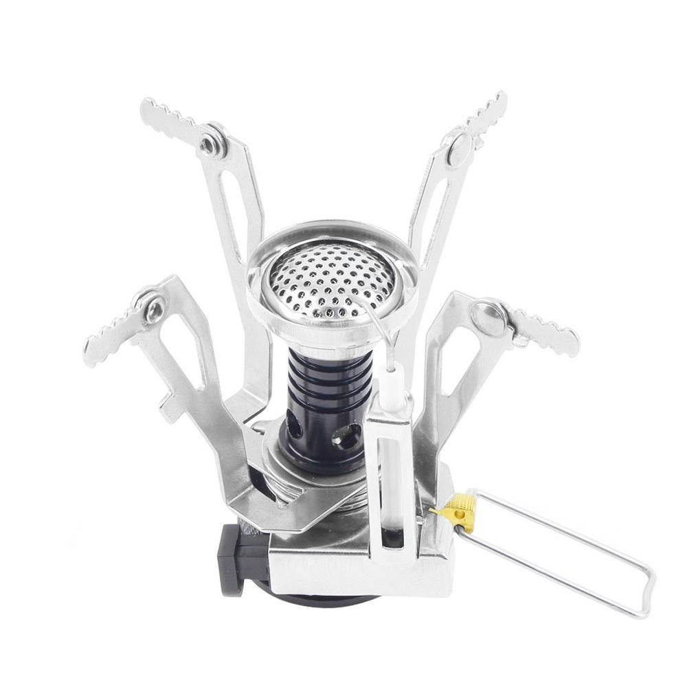 1PC Cooking Mini Foldable Portable Camping Outdoor Picnic Gas Burner Steel Stove
