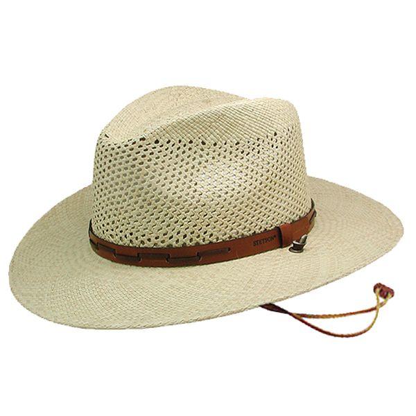 Stetson Airway Panama Hat Stetson Straw Hats Stetson Hat Cowboy Hats