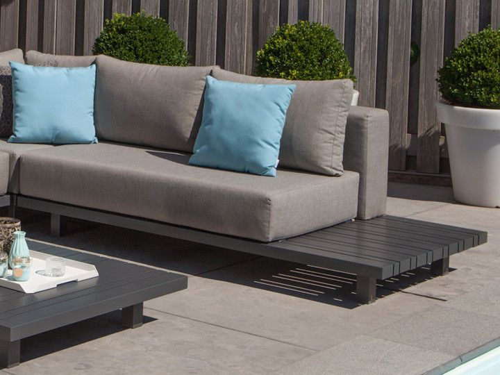 paradiso loungegruppe von exotan alu anthrazit nanotex taupe garten gartenm bel. Black Bedroom Furniture Sets. Home Design Ideas