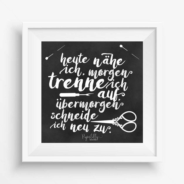 poster n hen trennen schneiden 23x23 cm f r 39 s n hzimmer geschenke f r n hfans pinterest. Black Bedroom Furniture Sets. Home Design Ideas