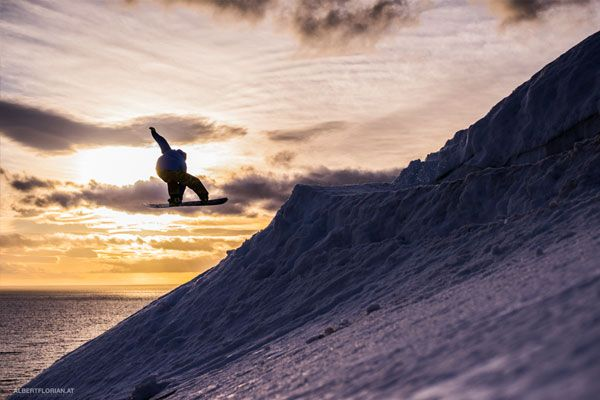 From top to ocean - feels unreal  Rider: Chris Schnabel Photo: Florian Albert