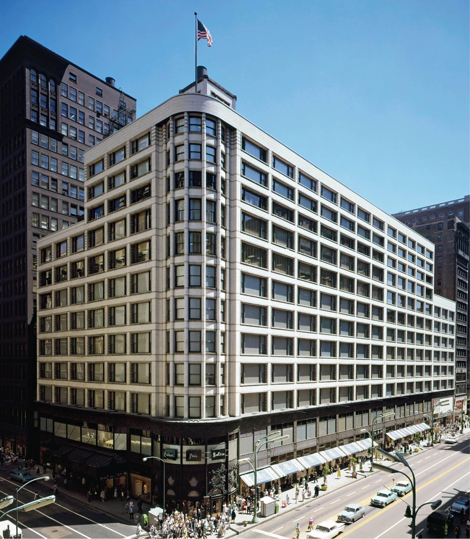 Carson Pirie Scott And Company Building Chicago