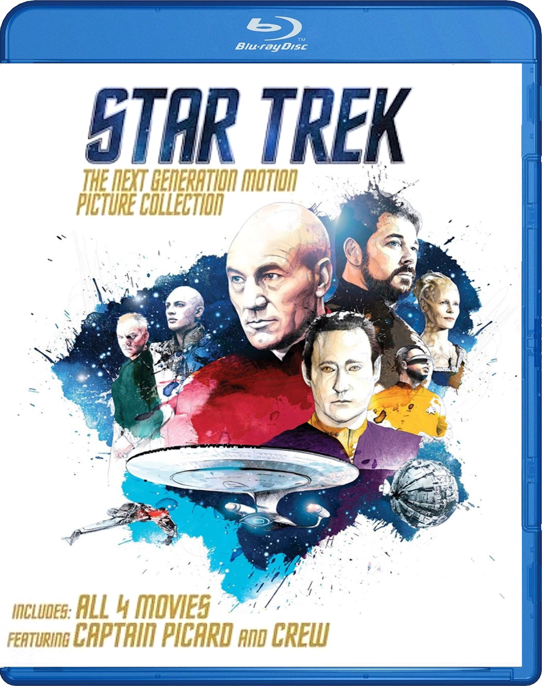 Star Trek: The Next Generation Motion Picture Collection Blu-ray