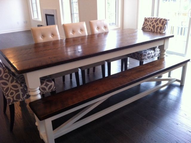 Custom Built Harvest Tables Dining Tables And Sets City Of