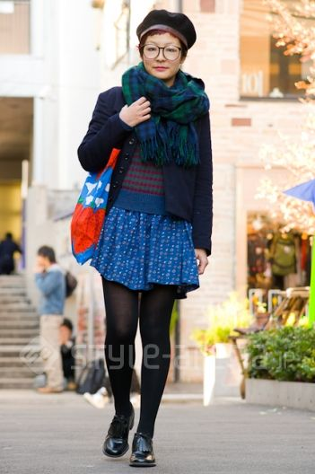 Tokyo street style blog... such great inspiration for wearing vintage pieces and creating unique style!