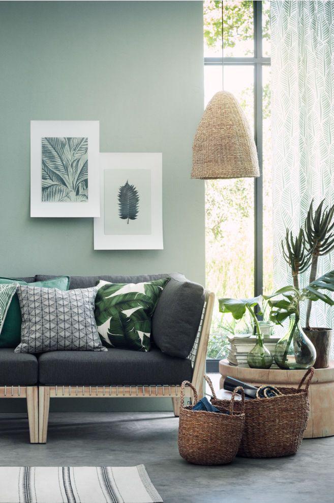 Large Braided Storage Baskets Home Decor Idea Affiliate Boho Livingroom Room Natural Decoration I Home Decor Online Living Room Paint Living Room Green #storage #baskets #living #room