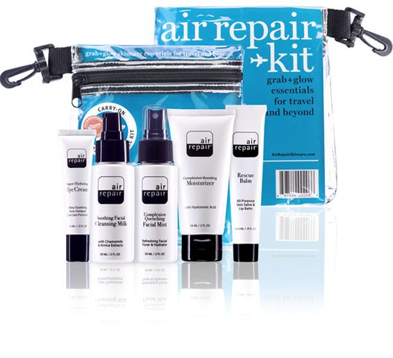 My Travel Packing List Air Repair Skincare Travel Kit Travel