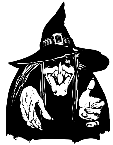 Witch With Evil Eye Halloween Pictures To Draw Witch Clipart Witch Drawing