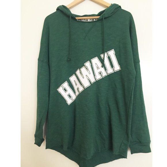Vs Pink University Of Hawaii Pullover Hoodie Nwt My Posh Picks