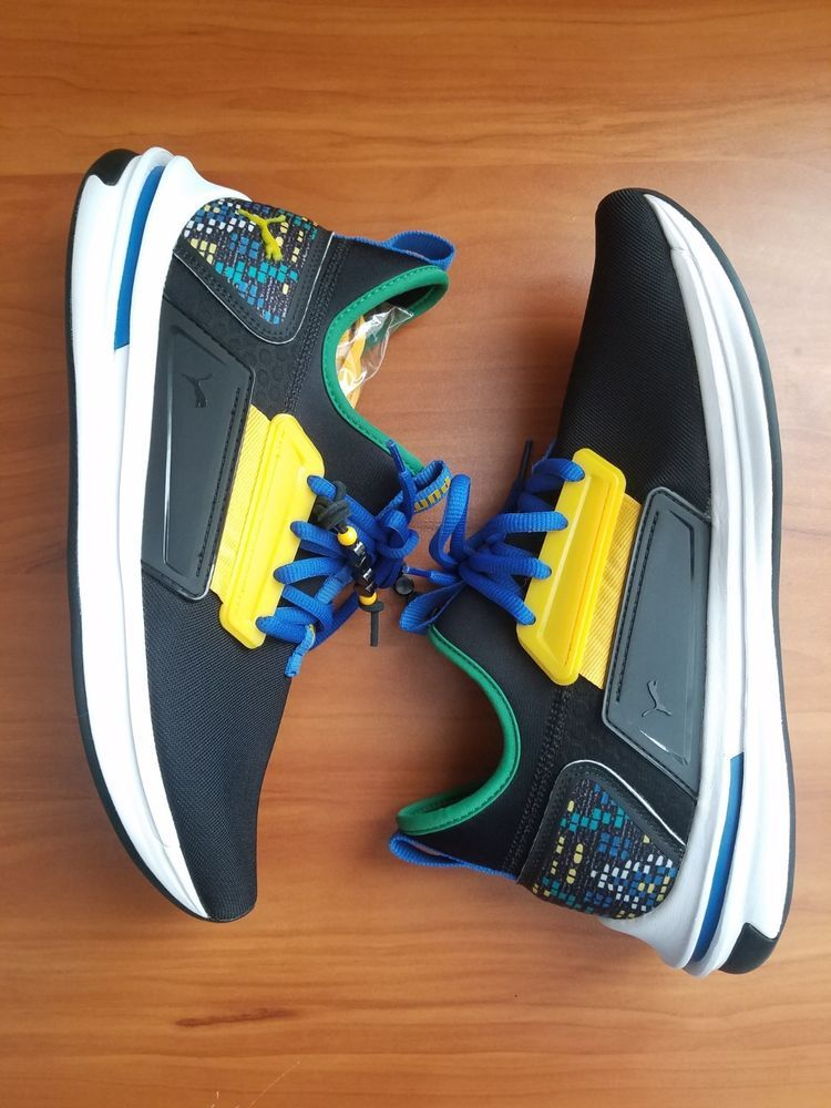 df985575d5e Puma Ignite Limitless Street Runner Carnival Black 366396-01 Size 10   fashion  clothing  shoes  accessories  mensshoes  athleticshoes (ebay link)