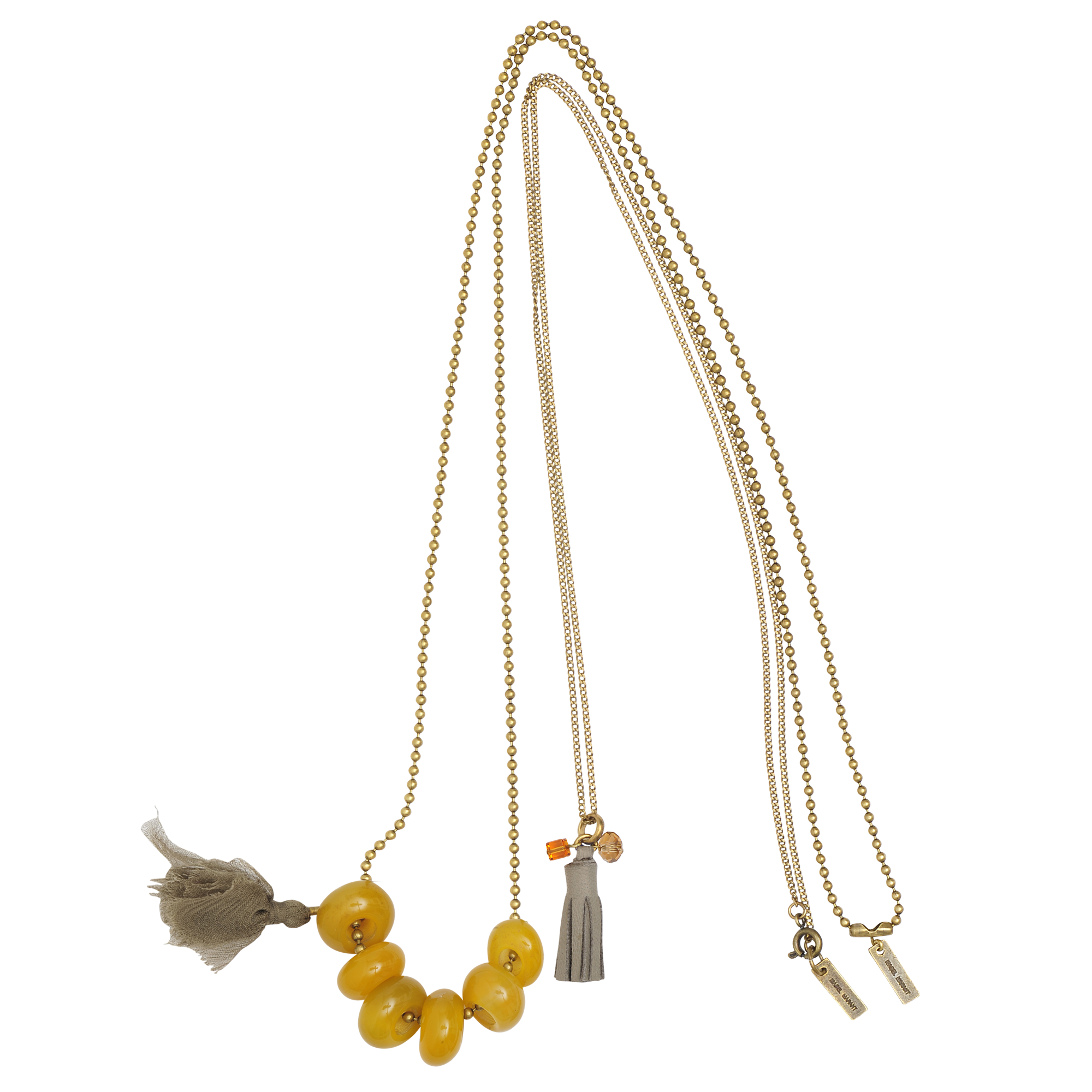 These Isabel Marant necklaces are the perfect way to experiment with this season's tribal-luxe trend !  MONNIER Frères