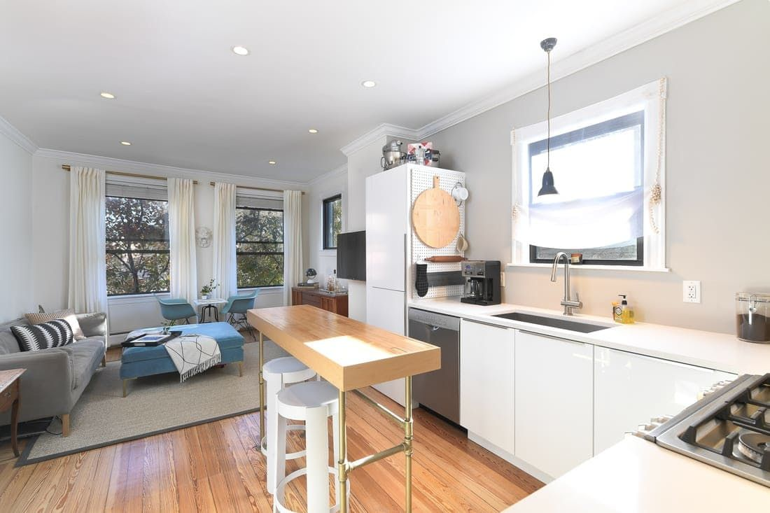 "Where Your Money Goes In A Kitchen Remodel: This 700-Square-Foot Boston Condo Goes From ""Perfectly"