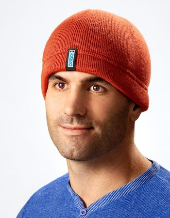 0009f8e49f7487 Cover: Crasche Winter Knit Hat - protective head gear, Modern and stylish,  this ribbed winter hat adds an extra layer of protection not only from the  cold, ...