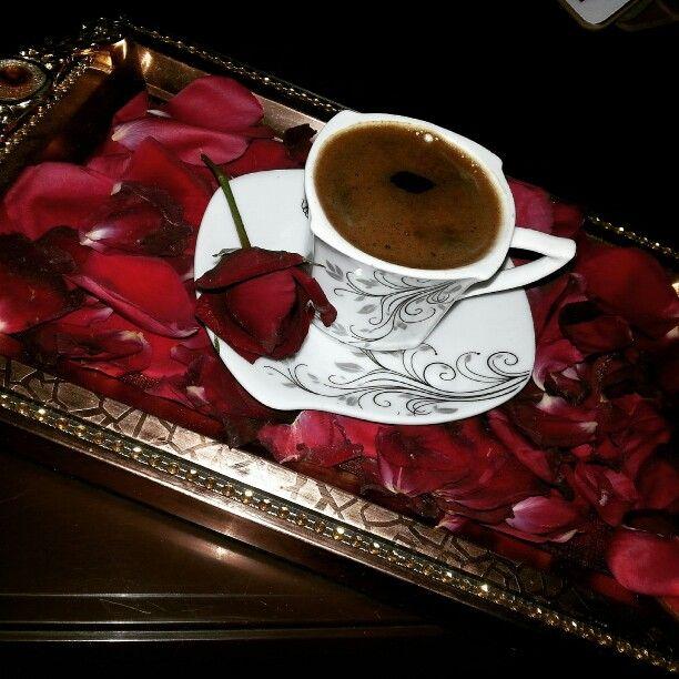 قهوة ورد أحمر جوري Morning Tea Tea My Coffee