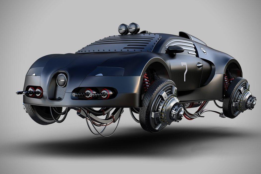 Modern Day Mad Max Motors Yanko Design Futuristic Cars Vehicles Futuristic