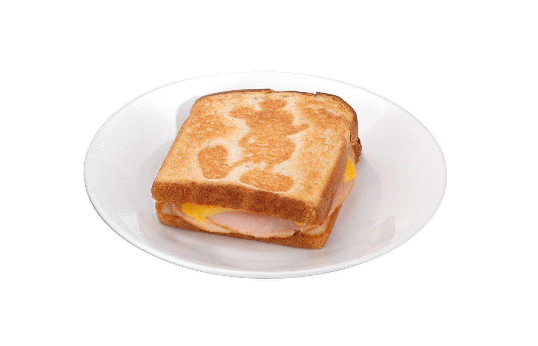 Amazon.com: Disney DCM-5 Classic Mickey 2-Slice Sandwich Maker, Black: Electric Sandwich Makers: Kitchen & Dining