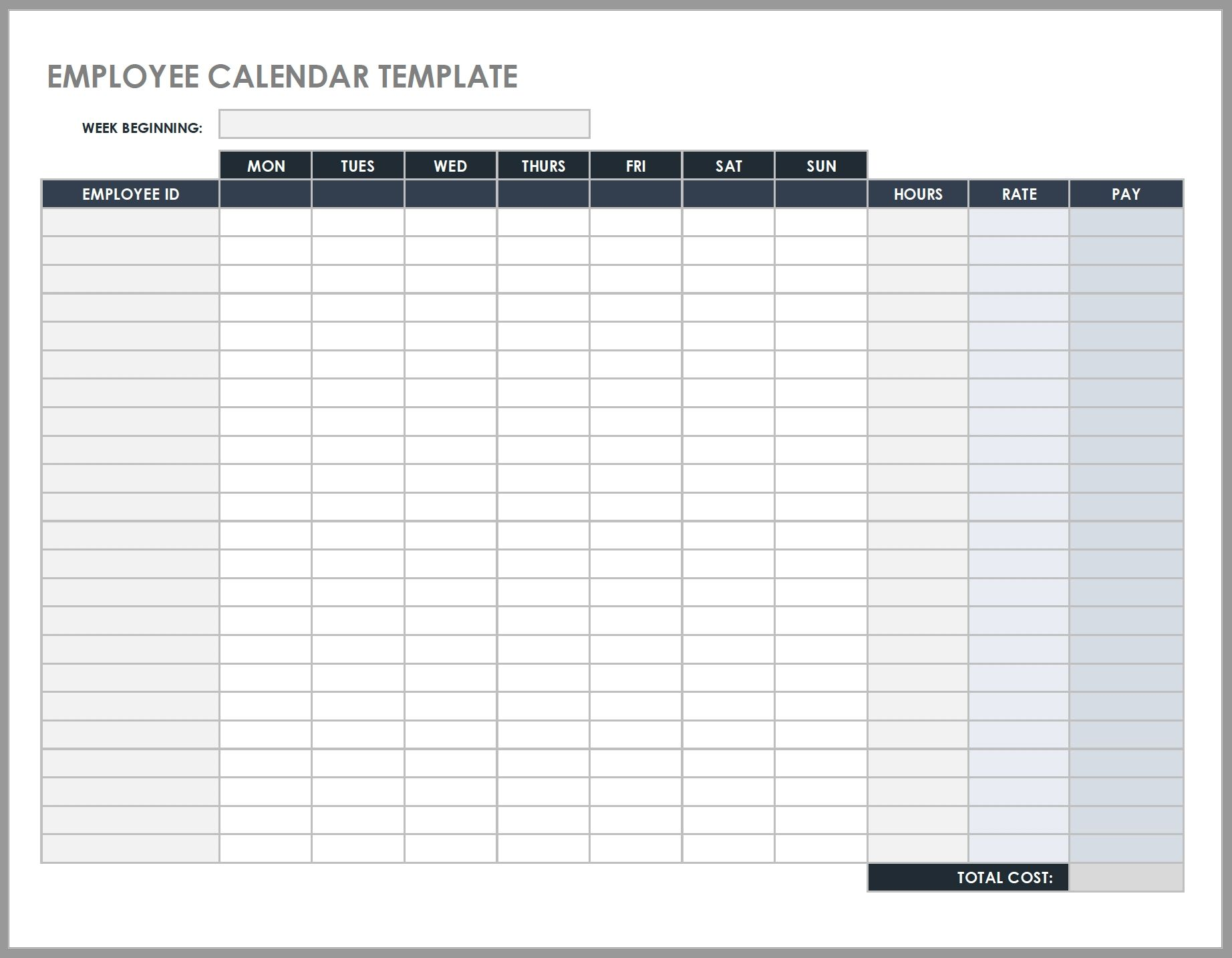 The Meeting Templates Mon